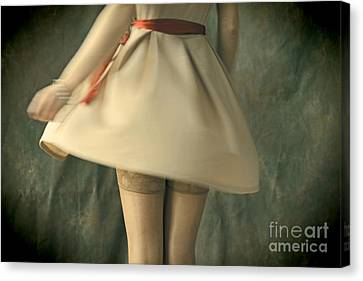 Dress Twirl Canvas Print