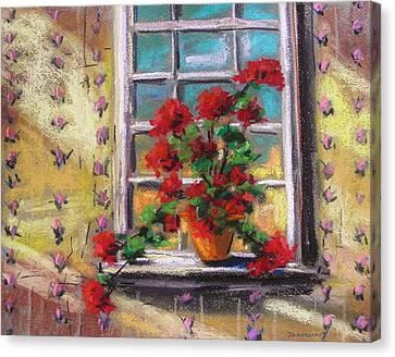 Dressing Room Window Canvas Print by John Williams