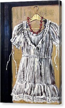 Dressing Up Canvas Print