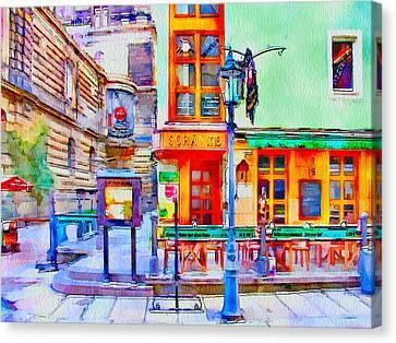 Dresden 1 Canvas Print by Yury Malkov