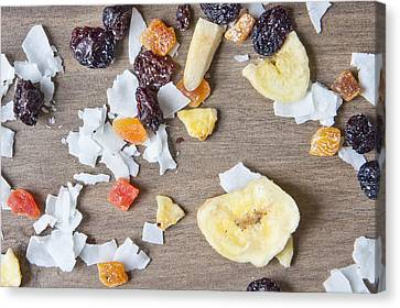 Dried Fruit Canvas Print by Tom Gowanlock