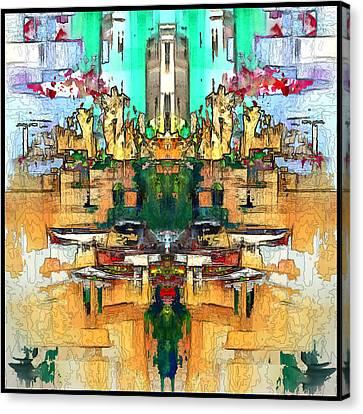Dries Call 7 Canvas Print