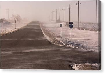 Drifting County 23 Canvas Print by Wayne Vedvig