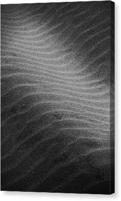 Canvas Print featuring the photograph Drifting Sand by Aaron Berg