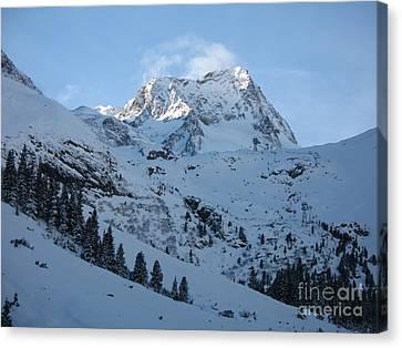 Drifting Snow Canvas Print