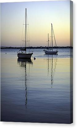 Canvas Print featuring the photograph Drifting Sunrise by Anthony Baatz