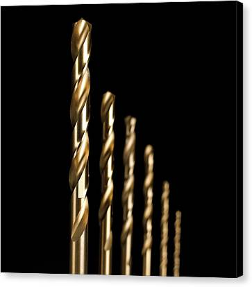 Drill Bits Canvas Print by Science Photo Library
