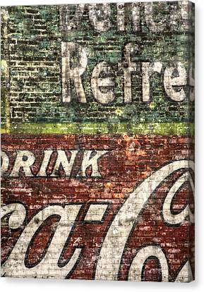 Drink Coca-cola 1 Canvas Print by Scott Norris
