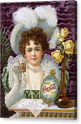 Drink Coca Cola 5cents Canvas Print by Movie Poster Prints