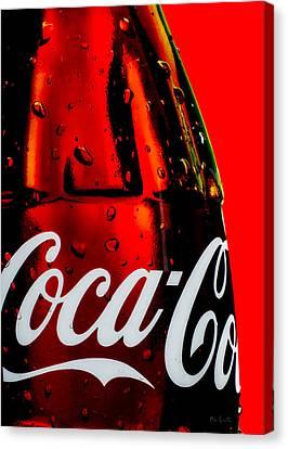 Drink Coca Cola Canvas Print by Bob Orsillo
