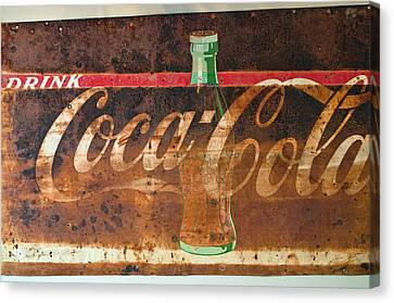 Drink Coca-cola Canvas Print by Tikvah's Hope