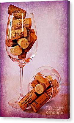 Drinking Problem Canvas Print by Clare Bevan
