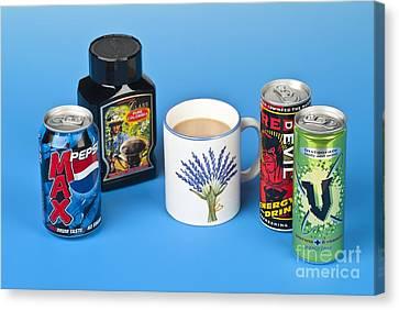 Drinks Containing Caffeine Canvas Print