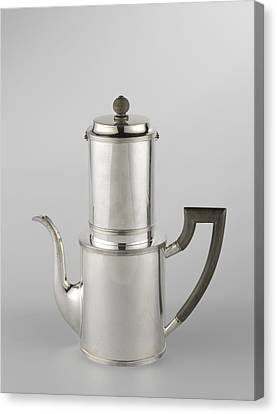 Drip Filter Coffee Pot Canvas Print by Quint Lox