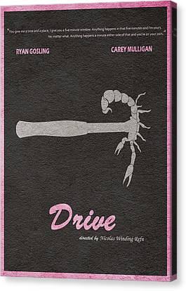 Drive Canvas Print by Ayse Deniz