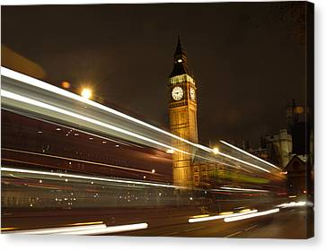 Drive By Ben - England Canvas Print by Mike McGlothlen