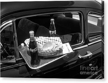 Drive-in Coke And Burgers Canvas Print by Paul W Faust -  Impressions of Light
