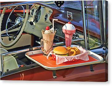 Drive-in Memories Canvas Print by Kenny Francis