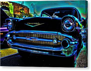 Drive In Special Canvas Print by Lesa Fine