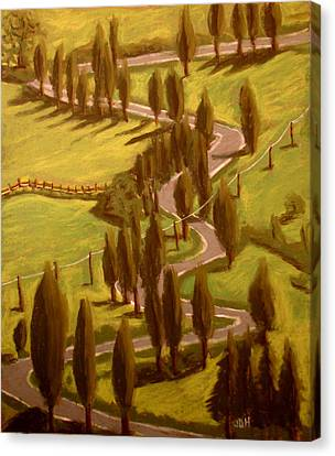 Drive Through Italy Canvas Print by Joseph Hawkins