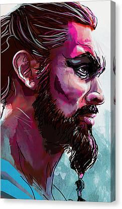 Drogo Canvas Print