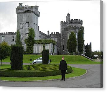 Dromoland Castle Canvas Print by Dotti Hannum