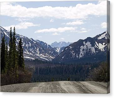 Drop Off Canvas Print