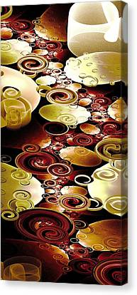 Drops And Ripples Canvas Print