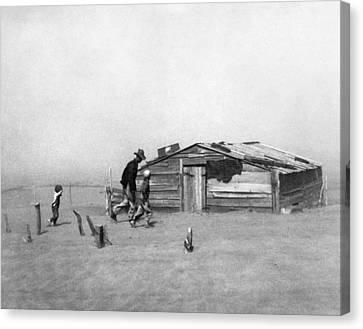 Drought Dust Storm, 1936 Canvas Print by Granger