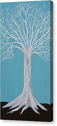 Druid Tree 2 Canvas Print by Maura Satchell