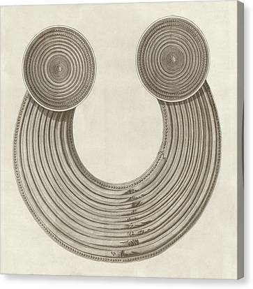 Druidic Breastplate Of Judgement Canvas Print