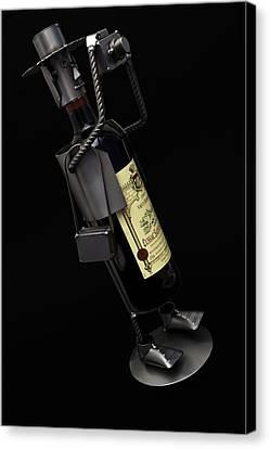 Drunken Tog Canvas Print by Nigel Jones