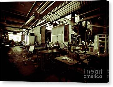 Dry Cleaning Plant Canvas Print by Amy Cicconi
