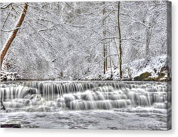 Dry Creek Winter Canvas Print