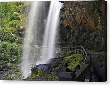Dry Falls North Carolina Canvas Print by Charles Beeler
