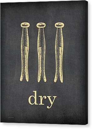 Dry Canvas Print by Jo Moulton