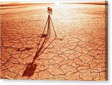 Dry Lake Photography Canvas Print by Gregory Dyer