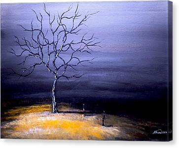 Dry Winter Canvas Print