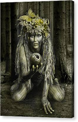 Dryad I Canvas Print by David April