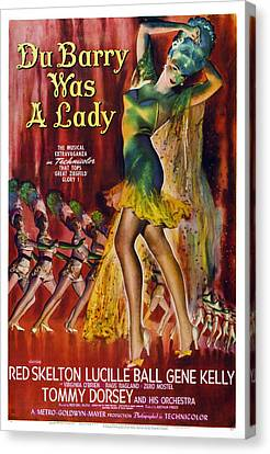 Du Barry Was A Lady, Us Poster, 1943 Canvas Print