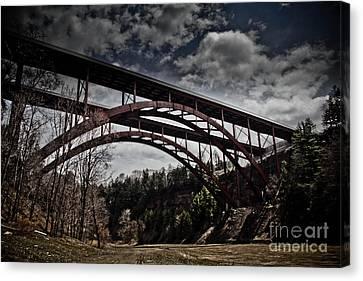 Dual Arched Bridge Canvas Print