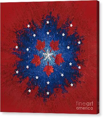 Dual Citizenship 2 Canvas Print by First Star Art