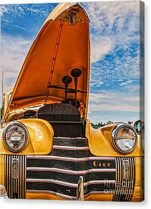 Dual Horn Olds Canvas Print