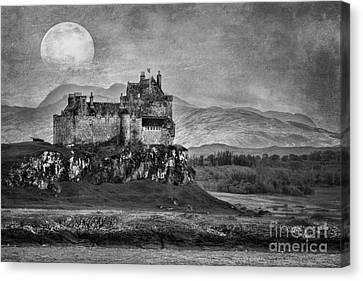 Duart Castle Scotland Canvas Print by Juli Scalzi