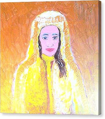 Dubai Beauty Canvas Print by Richard W Linford