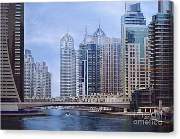Dubai Marina Canvas Print