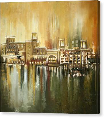 Dubai Monumental Art Canvas Print by Corporate Art Task Force