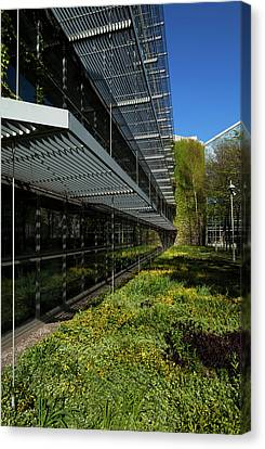 Dublin Building Colors Canvas Print - Dublin Corporation Civic Offices by Panoramic Images