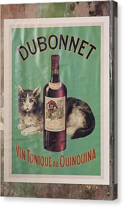 Dubonnet Wine Tonic Dsc05585 Canvas Print by Greg Kluempers