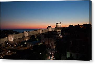 Canvas Print featuring the photograph Dubrovnik by Silvia Bruno